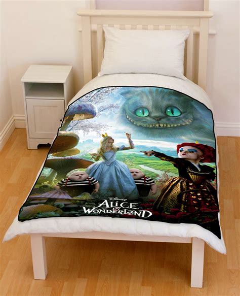 alice in wonderland bedding alice in wonderland bedding throw fleece blanket