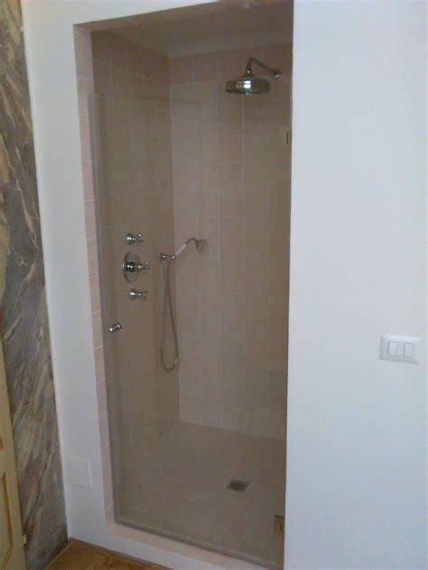 vetro doccia scorrevole vetro scorrevole per box doccia in muratura vetreria