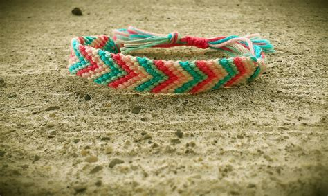 Sadie's Bracelets   Chevron Friendship Bracelet (Cotton Candy)   Online Store Powered by Storenvy