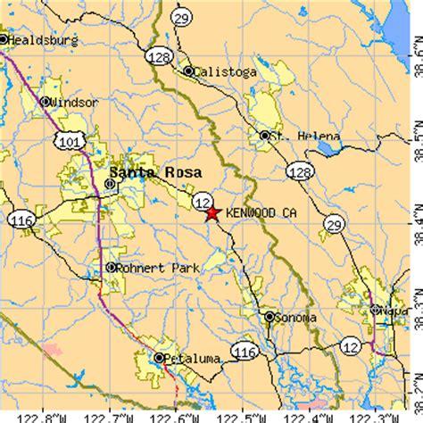 kenwood california map kenwood california ca population data races housing