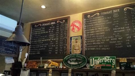blind tiger ale house the beer list on may 13th 2015 picture of blind tiger ale house new york city