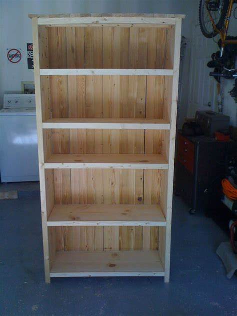 rustic style bookcase kreg owners community