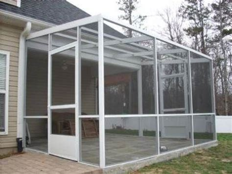 How To Enclose A Patio With Screen by Best 25 Patio Screen Enclosure Ideas On
