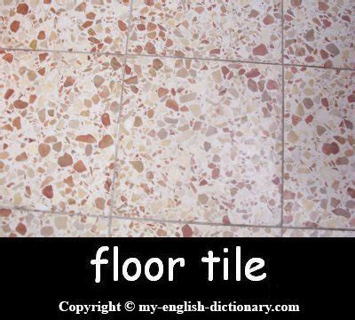 how to say quot floor tile quot learn with pictures and