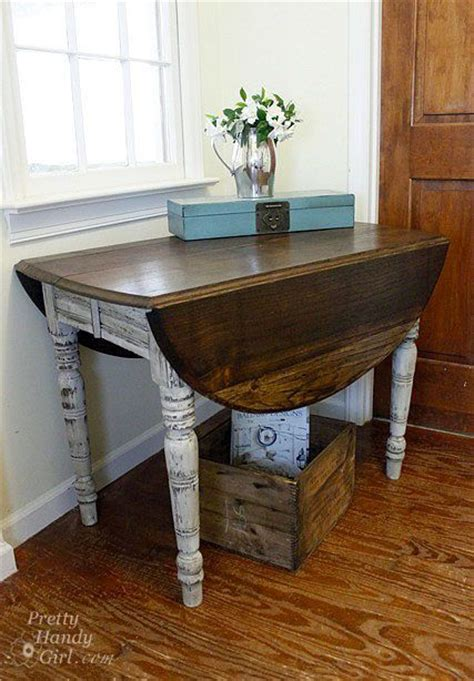 Diy Drop Leaf Table How To Build A Drop Leaf Dining Table Woodworking Projects Plans