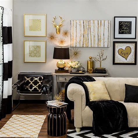 black white home decor 25 best gold home decor ideas on gold accents