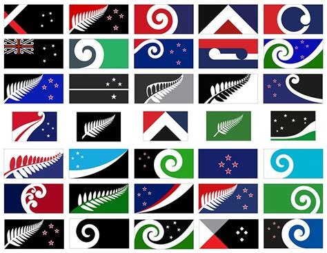 flags of the world new zealand nz flag designs gallery
