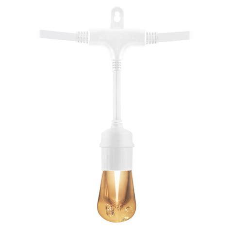 48 ft string lights hton bay 48 ft 24 socket incandescent string light set