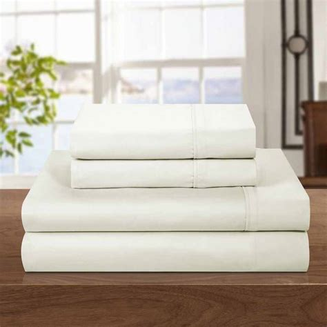 bed sheets at walmart hotel style 500 thread count egyptian cotton bedding sheet