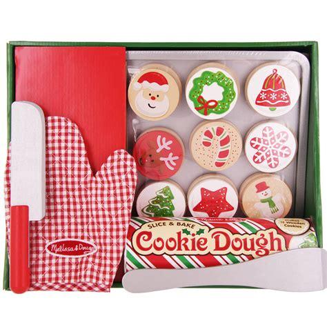 slice bake christmas cookie play set creative kidstuff