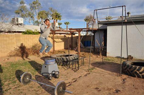 crossfit backyard gym crossfit gto beginnings backyard gym in mesa az custom