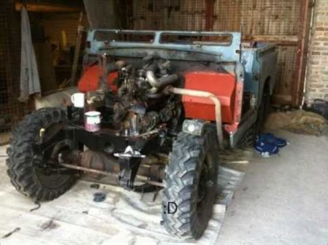 land rover series iia rebuilt by part 1
