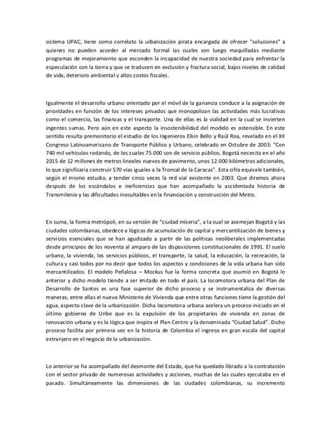 Jacksonian Democracy Essay by Ponencias Debate Enero 24 Proyecto De Ciudad