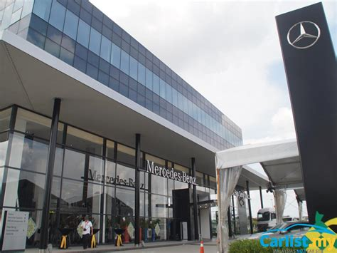 mercedes showroom mercedes malaysia officiates integrated one