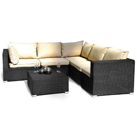Es London Patio Corner Sofa Group Patio Furniture Garden