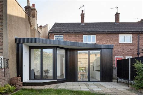 renovated semi detached house london home redesigned by scenario architecture oozes radiant minimalism
