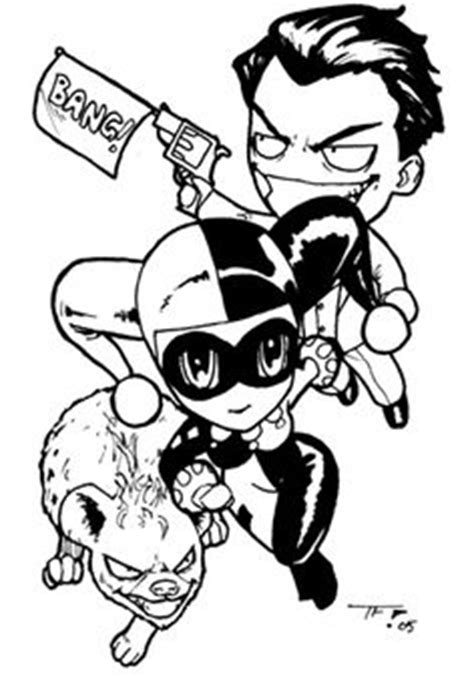 harley quinn and joker coloring pages cute 6 quot batman s joker and harley quinn decal love it
