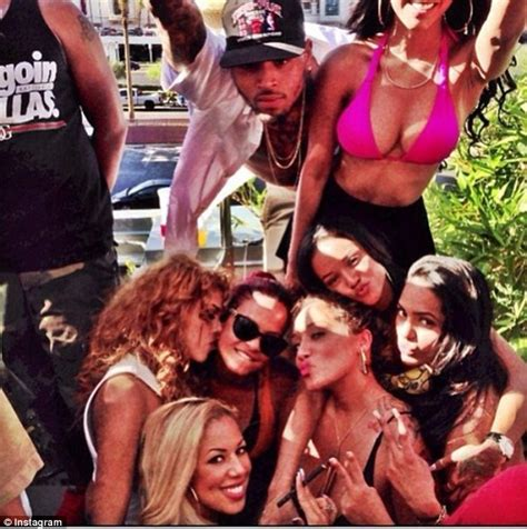chris brown and girls chris brown s baby mama nia is friends with karrueche