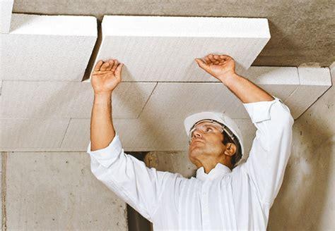coibentare il soffitto obi isolamento soffitto della cantina isolare