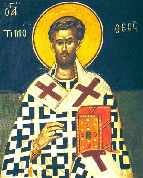 Tim Hail Saints by Today St Timothy The Hieromartyr Bishop Of Brussa