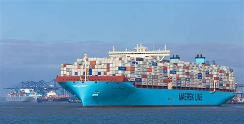 biggest shipping vessel in the world maersk largest container ship in the world maersk the