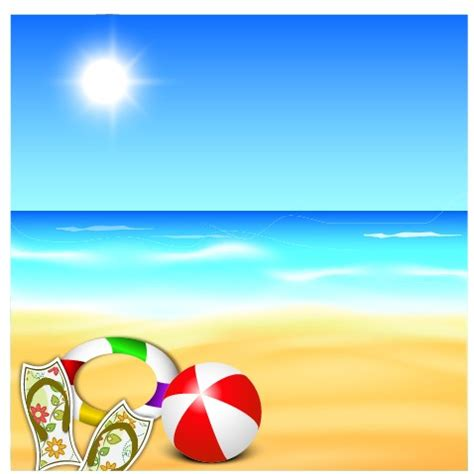 ppt templates free download summer beautiful summer beach background 01 over millions