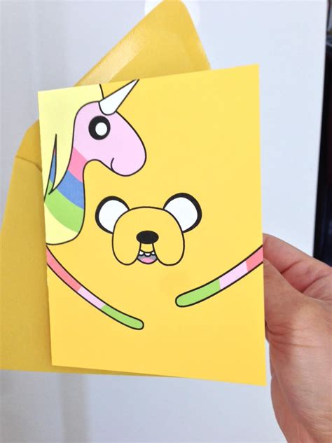 cards adventure time my fiancee made me a birthday card adventure time