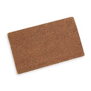 buy plain coir door mat from bed bath beyond