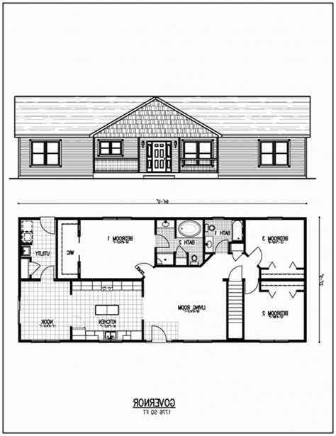 inspiring ranch style house plans with basement unique
