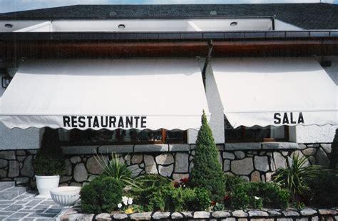 restaurante sala guadarrama instalaci 243 n de toldo extensible en restaurante sala