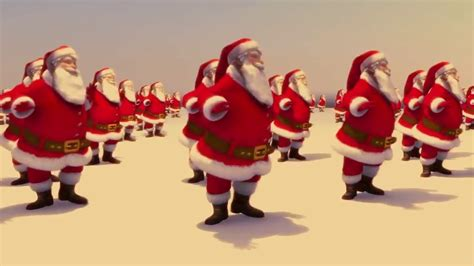 santa claus rocks santa claus dancing merry christmas  happy  year  youtube