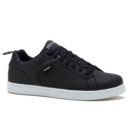 and1 mens courtside low top lace up shoe outdoor skate