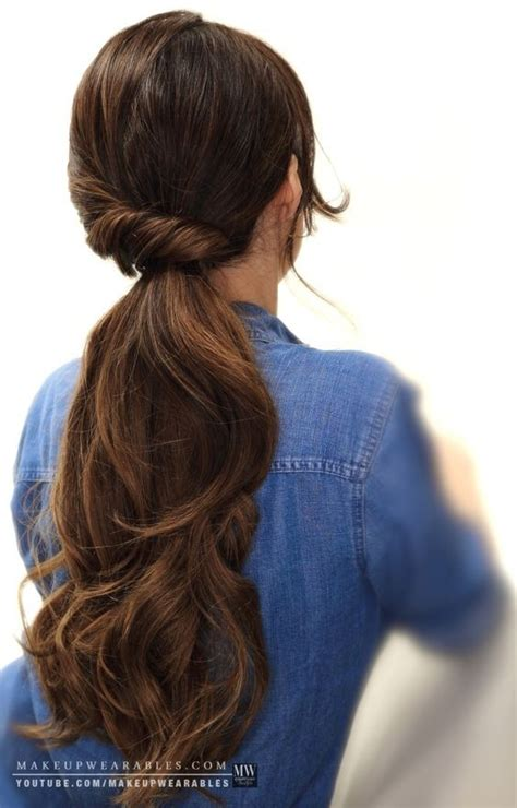 hairstyles for long hair everyday 10 easy ponytail hairstyles long hair style ideas 2018