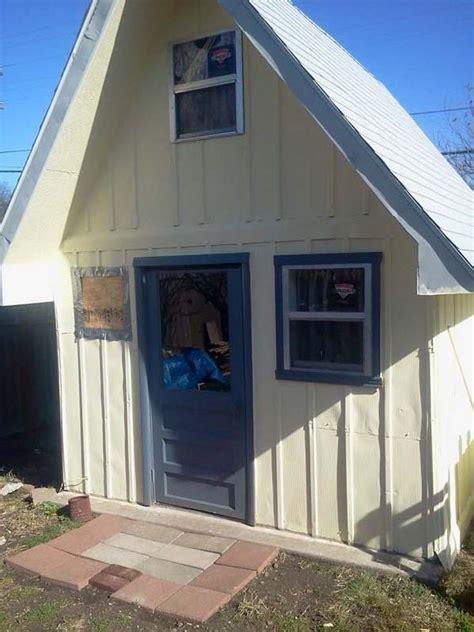 Grandma Turns Backyard Shed Into Tiny Home | grandma turns backyard shed into tiny home