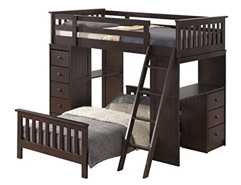 broyhill bunk beds broyhill kids marco island twin loft and bed collection espresso furniture beds