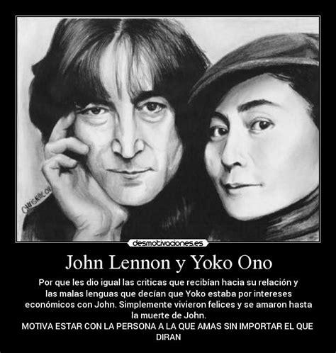 imagenes john lennon y yoko ono john lennon y yoko ono desmotivaciones