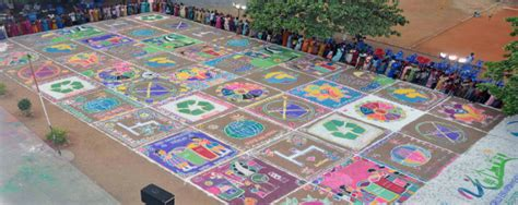 rangoli themes environment indian colombian and kenyan initiatives among winners of