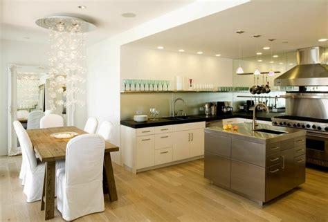 idee amenagement cuisine am 233 nager une cuisine ouverte sur salle 224 manger