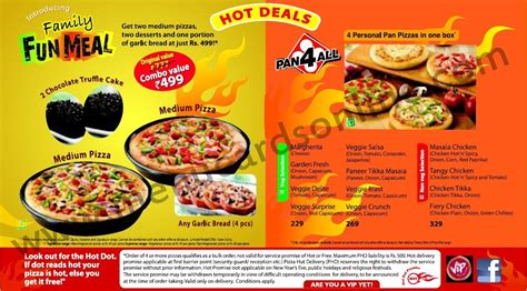 Pizza Hut Online Gift Card - dominos pizza menu card