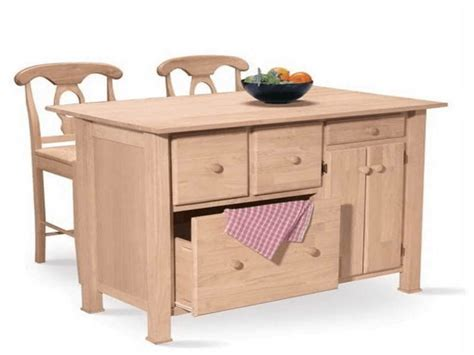 unfinished wood kitchen island why choosing unfinished kitchen island with optional