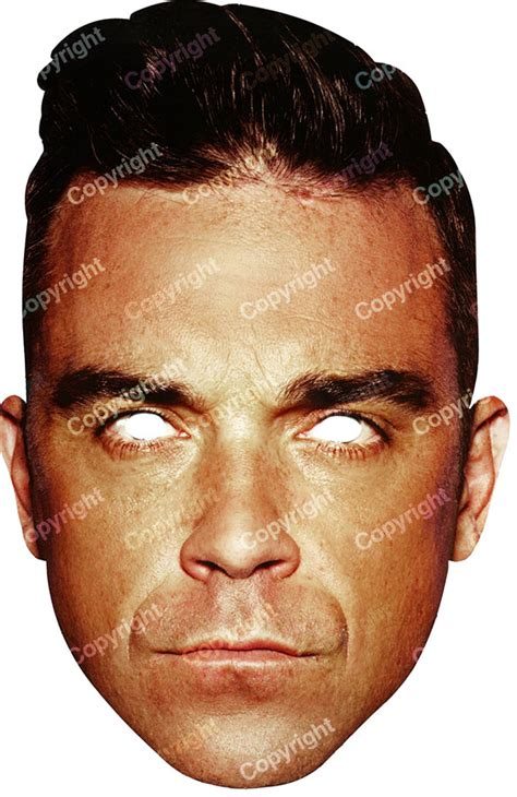 Calendrier Fete William Masque Robbie Williams D 233 Coration Anniversaire Et