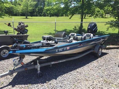 boats for sale vt triton vt 17 boats for sale