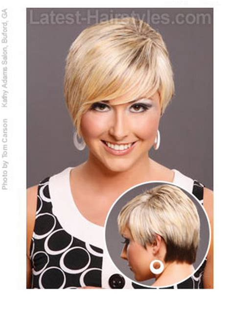 heart dhort hair cits for womens short haircuts for heart shaped faces hair style and