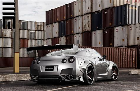 nissan gtr black edition body nissan gt r wide body by exclusive motoring