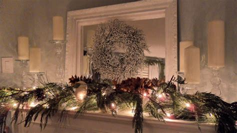 restoration house christmas mantel