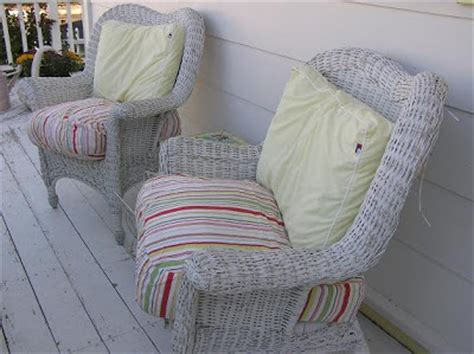White Wicker Chairs For Sale by Cutepinkstuff And More A Bargain