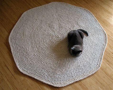 Free Pattern Crochet Rug by Crocheted Rug Free Pattern Knit Crochet