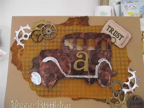 Tim Holtz Birthday Cards 17 Best Images About The Journey Tim Holtz On Pinterest