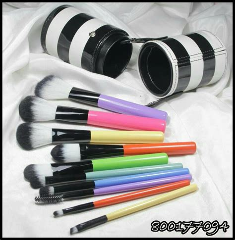 Kuas Makeup Brown harga make up brush set murah saubhaya makeup
