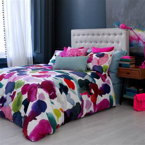 Set Blue Abstrak abstract duvet cover designer bedding bluebellgray